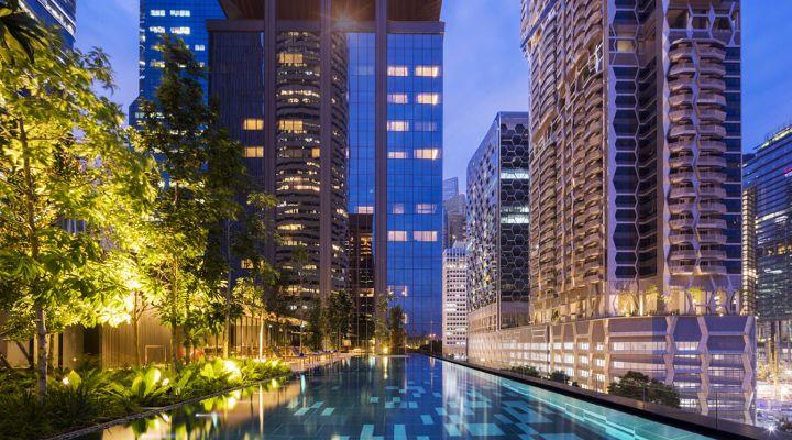 Oakwood Premier OUE Singapore Apartment