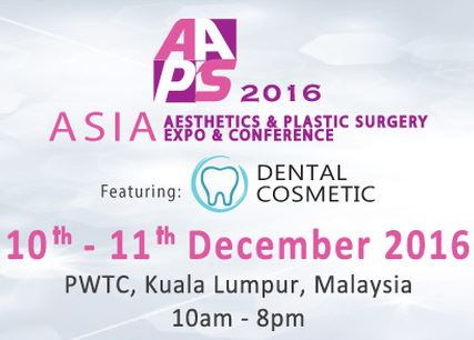 Asia Aesthetics & Plastic Surgery Expo 2016 (AAPS)
